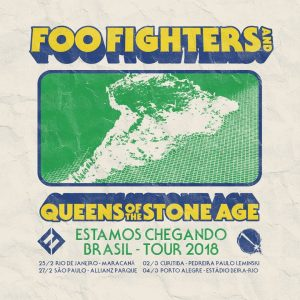 Foo Fighters e Queens of Stone Age em Curitiba